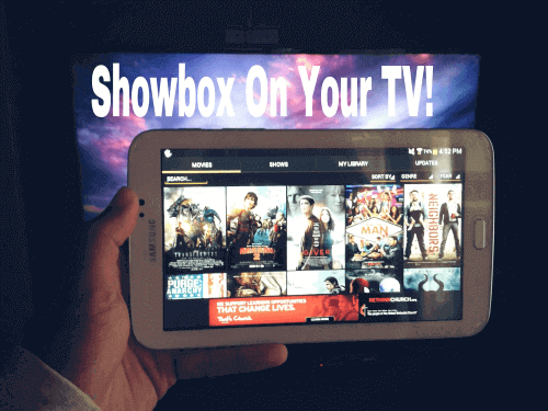 showbox to chromecast free